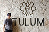 Entrance to Tulum Mayan Ruins<br /> Photo by Scott Warner