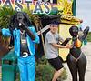 Kevin having fun at Bob Marley's house<br /> Photo by Scott Warner