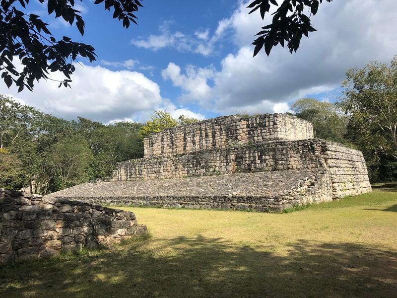 Ball Court, built in 841.<br /> Ek Balam, Yucatan