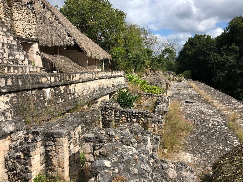 Lower section of the Acropolis<br /> Ek Balam, Yucatan