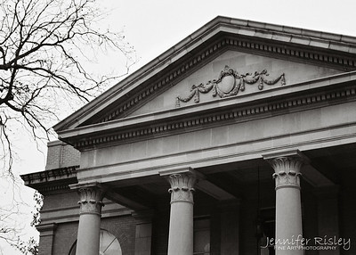 Fulton Chapel Pediment