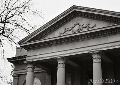 Fulton Chapel Pediment