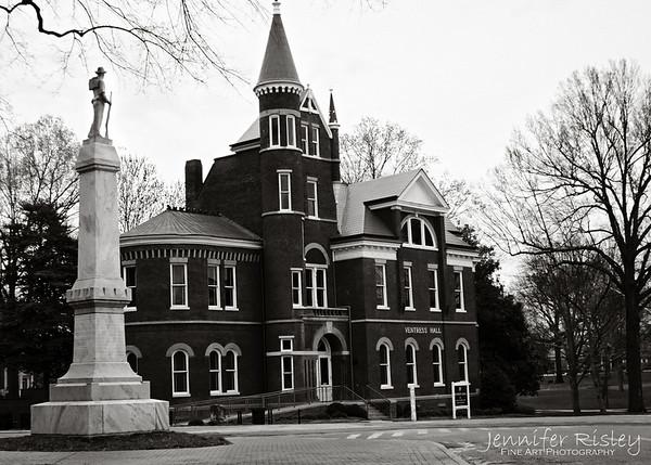 Confederate Soldier, Ventress Hall