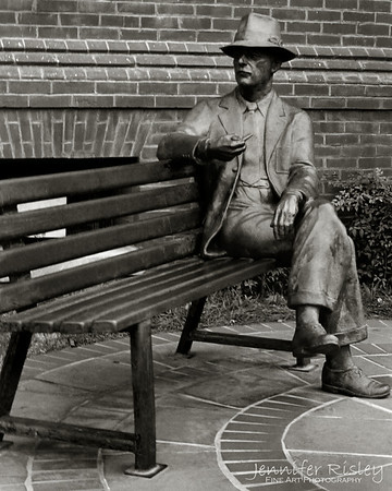 Faulkner Statue: Oxford, MS