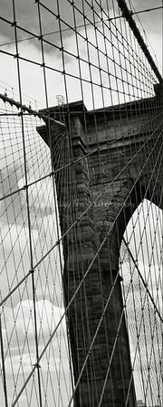 Brooklyn Bridge Tower Corner Detail
