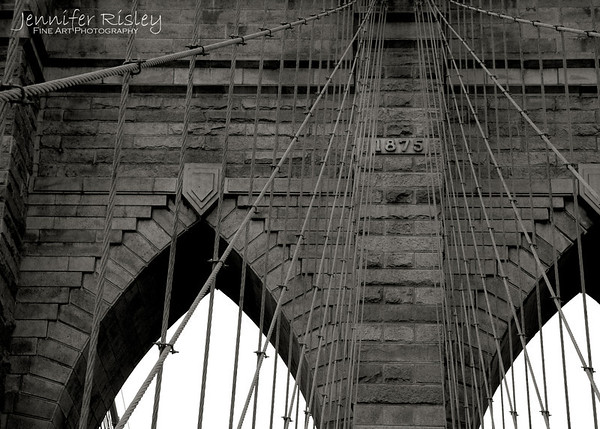 Brooklyn Bridge Tower Detail