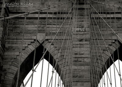 Brooklyn Bridge Tower Detail
