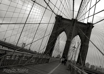 Brooklyn Bridge East Tower