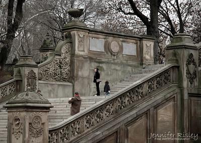 Bethesda Terrace Steps