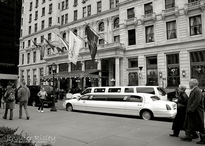 Limo at The Plaza