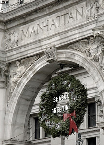 Municipal Building Wreath