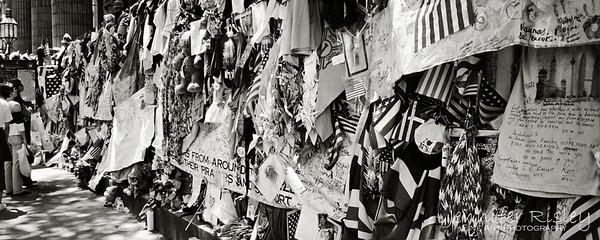 9/11 Memorial Wall, 2002