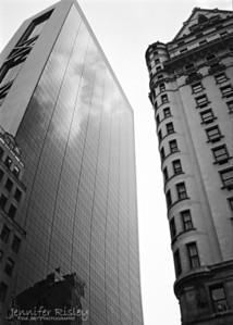 Skyscraper Relection & The Plaza