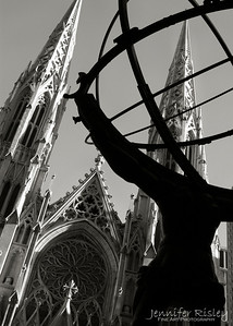 Atlas & St. Patrick's Cathedral