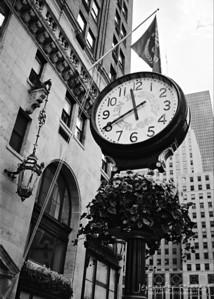 The Sherry Netherland Clock