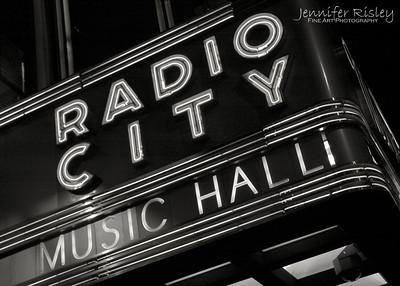 Radio City Marquis at Night