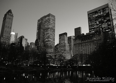 5th Avenue over Central Park Pond