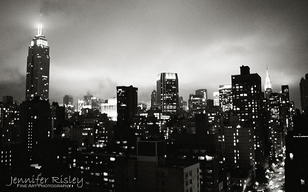 Midtown Skyline at Night