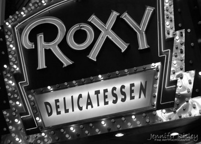 Roxy Delicatessen Sign