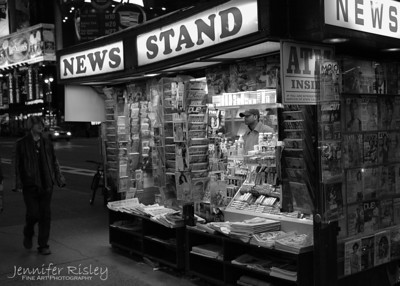 Times Square News Stand