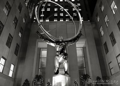 Atlas at Night