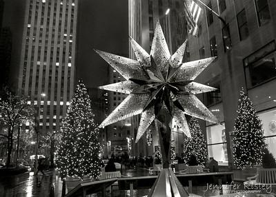 Swarovski Crystal Star at Rockefeller Plaza