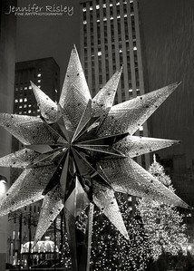 Swarovski Crystal Star at Rockefeller Plaza