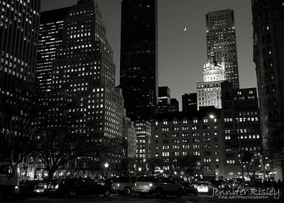 Moon over 5th Avenue