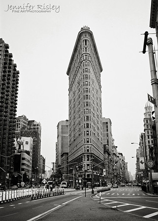 Flat Iron Building from Broadway & 5th Avenue