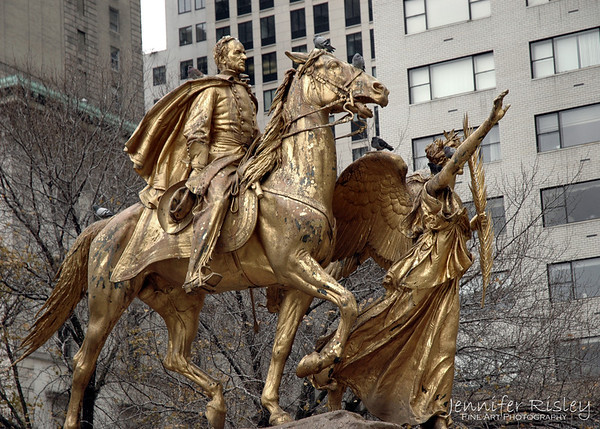 Grand Army Plaza Statues