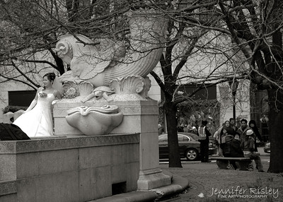 Bride at Grand Army Plaza