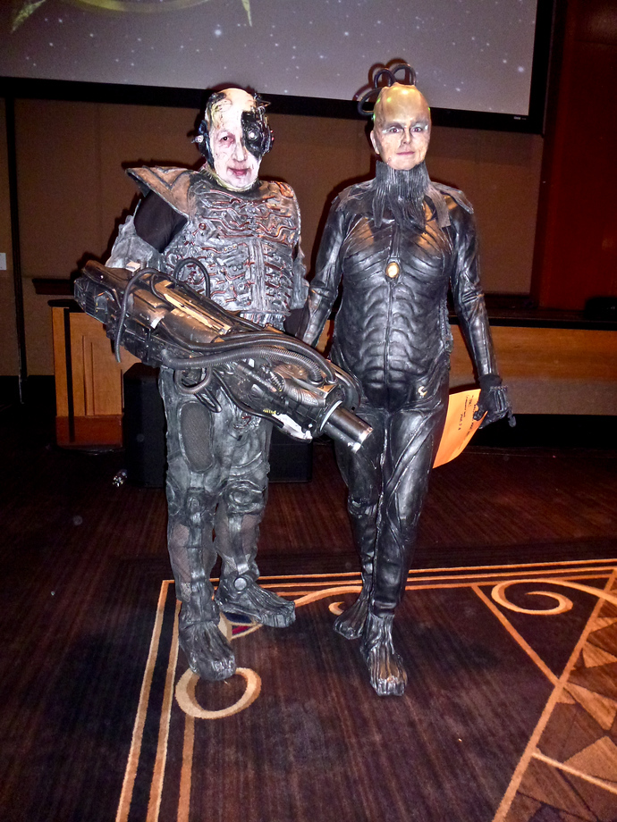 star trek las vegas 2014 borg queen