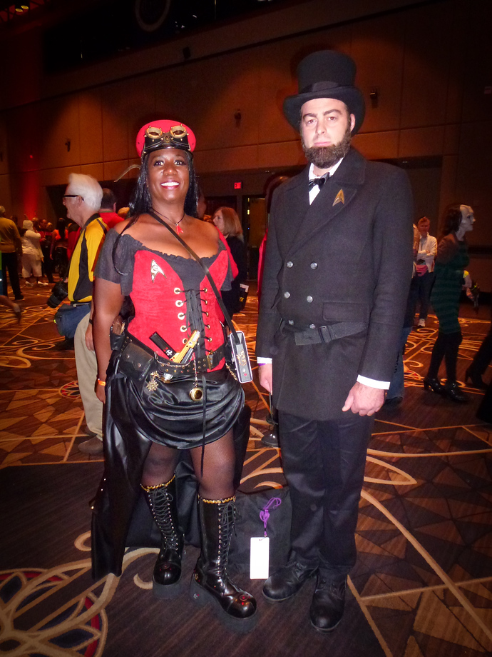 star trek las vegas 2014 steampunk lincoln