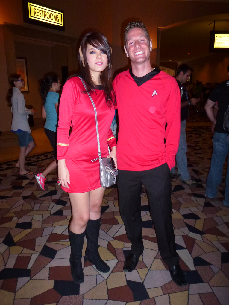 red shirts star trek las vegas 2013
