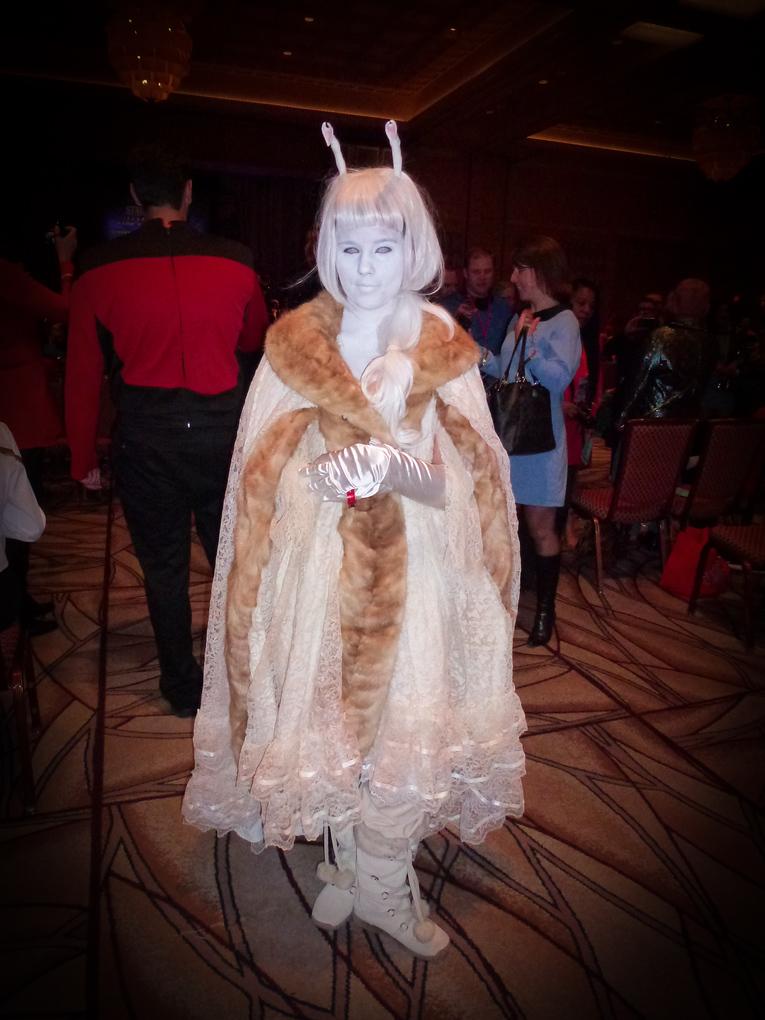 white andorian star trek las vegas 2013