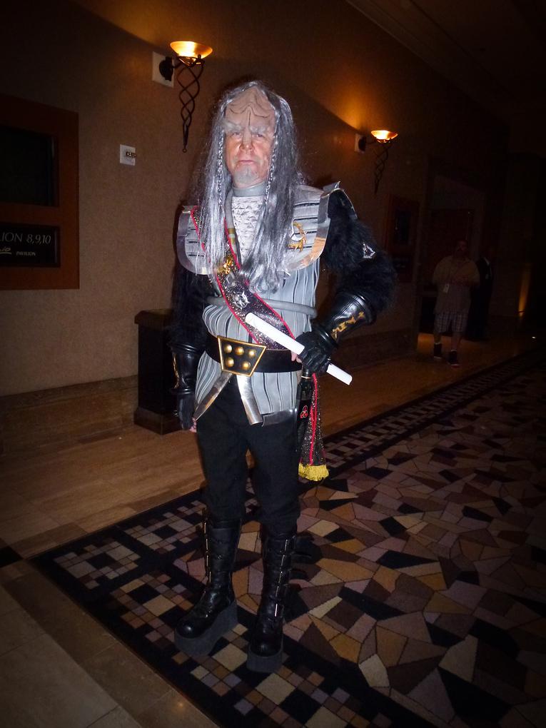 old klingon star trek las vegas 2013