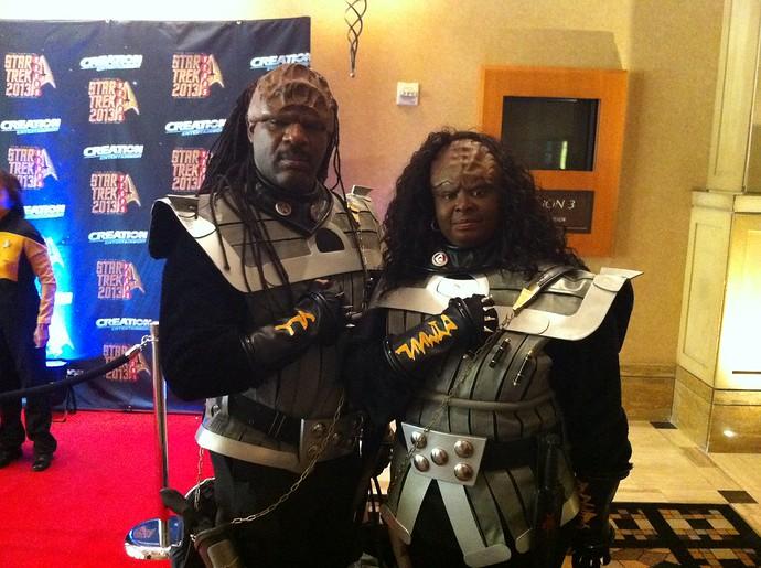 klingons star trek las vegas 2013