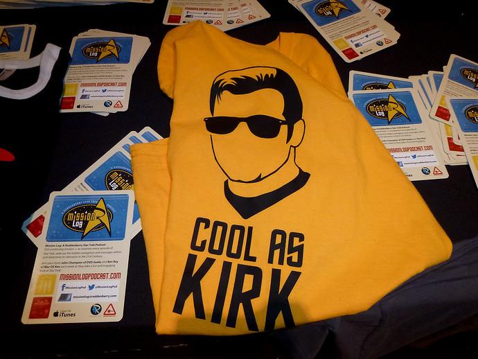 cool as kirk tshirt