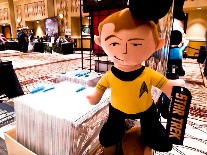 captain kirk stuffed doll