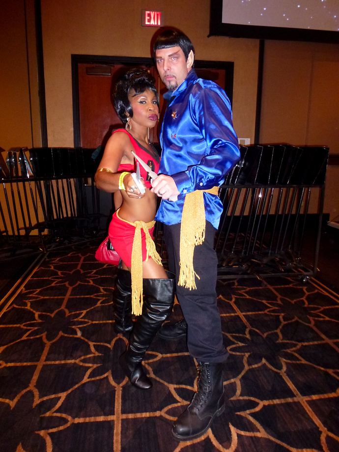 star trek las vegas 2014 uhura spock evil mirror