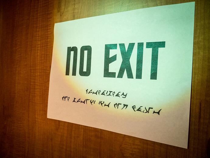 no exit klingon