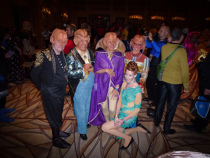 ferengi rio last vegas star trek convention 2013