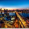 Sunset Over The Manhattan Bridge