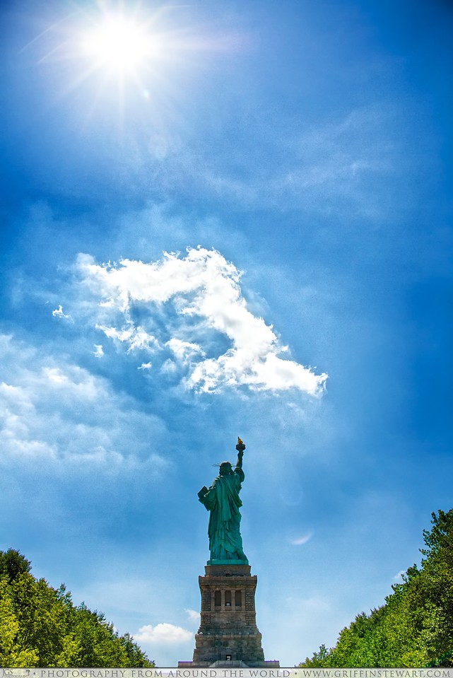 The Sun, The Cloud & Lady Liberty