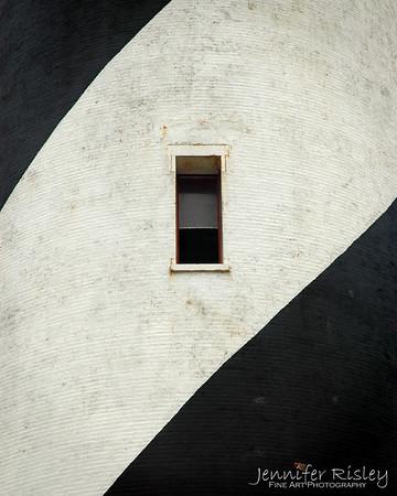 Hatteras Lighthouse Window