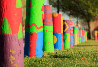 Painted Posts