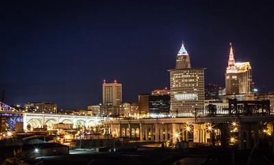 Cleveland Nightscape
