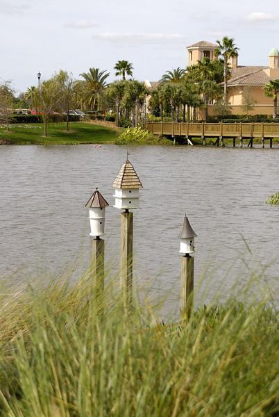 Bird Houses at Grand Lakes