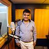 Mushfiq in his sound studio