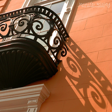 Iron Balcony & Shadow